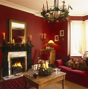 Living Room Decorating Ideas Red And Brown