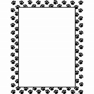 Dog Paw Border Clip Art | Clipart Panda - Free Clipart Images