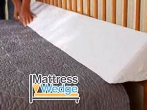mattress wedge fits any size bed storage pockets as With bed pillow wedge as seen on tv