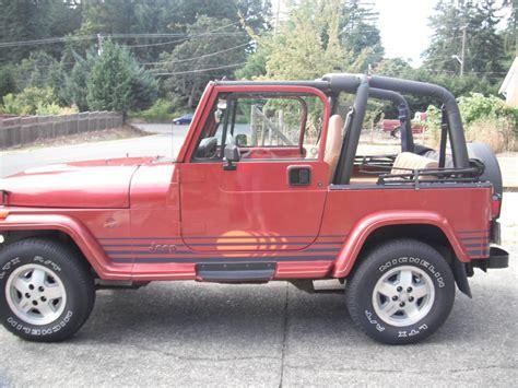 jeep islander 1992 jeep yj islander edition outside nanaimo nanaimo