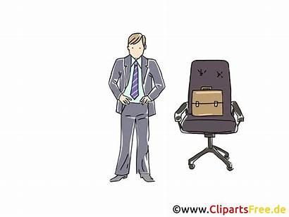 Clipart Manager Cartoon Chefsessel Grafik Bild Graphic