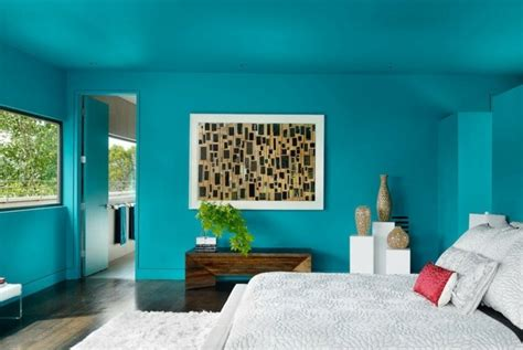 chambre adulte bleu 1001 designs stupéfiants pour une chambre turquoise