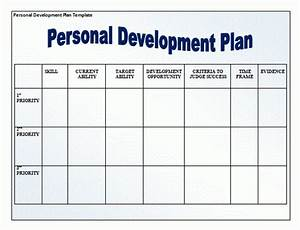 11 personal development plan templates free word templates With district professional development plan template