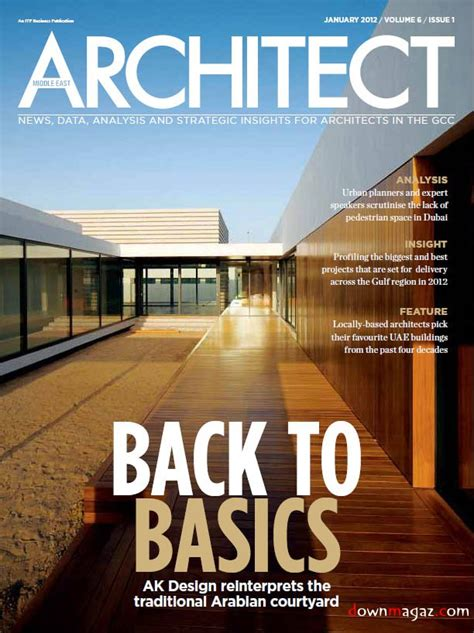 Middle East Architect  January 2012 » Download Pdf