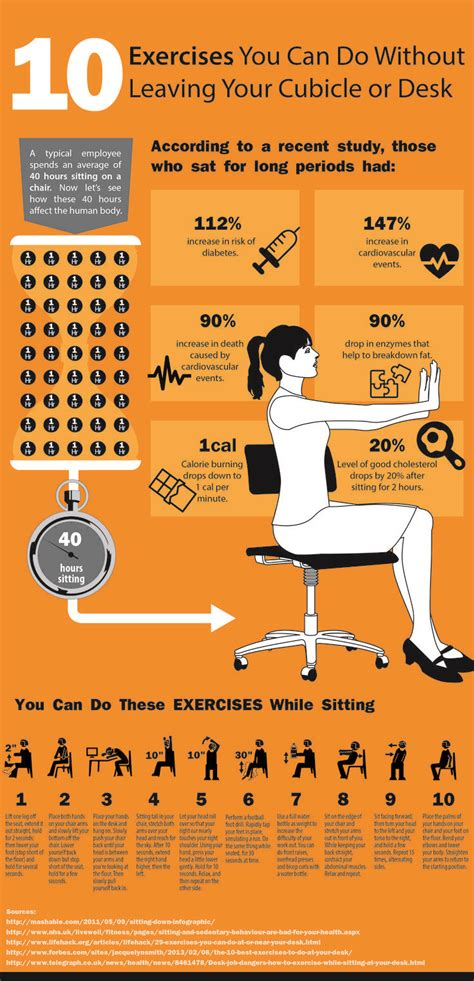 exercises to do at your desk with pictures 10 exercises you can do at your cubicle or desk