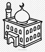 Mosque Coloring Masjid Colouring Clipart Line Temple Drawing Getcolorings Clip Dome Pinclipart Kindpng Views Report Webstockreview sketch template