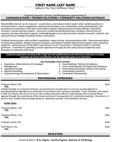 Community Relations Program Manager Resume by Top Relations Resume Templates Sles