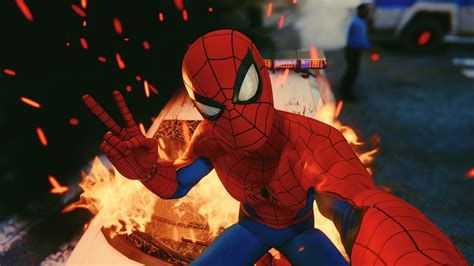 Spiderman Taking Selfie Ps4 4k 2018, Hd Games, 4k Wallpapers, Images, Backgrounds, Photos And