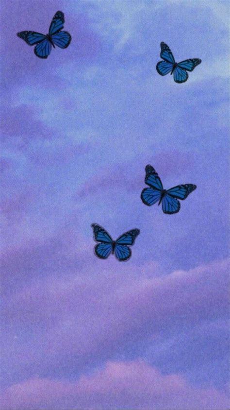 butterfly iphone wallpaper aesthetic pastel wallpaper