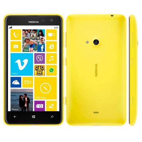 nokia lumia 625h yellow 8gb 4g windows phone