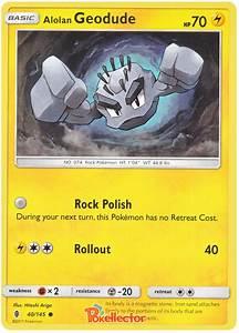 Alolan Geodude - Guardians Rising #40 Pokemon Card