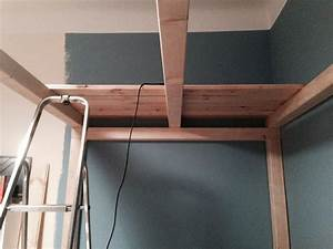 Hochebene Selber Bauen : hochbett an der wand befestigen ostseesuche com ~ Watch28wear.com Haus und Dekorationen
