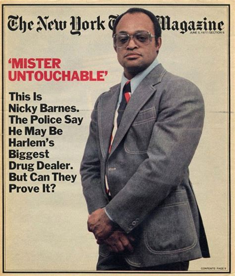 Leroy Nicky Barnes by 5 Just As Notorious As Pablo Escobar El Chapo