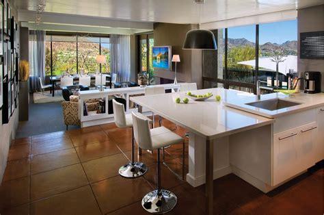kitchen livingroom interior open floor plan kitchen dining living room