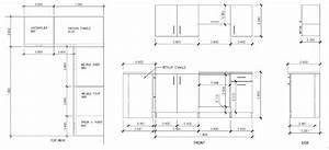 hauteur standard plan de travail cuisine dcoration With hauteur standard plan de travail cuisine