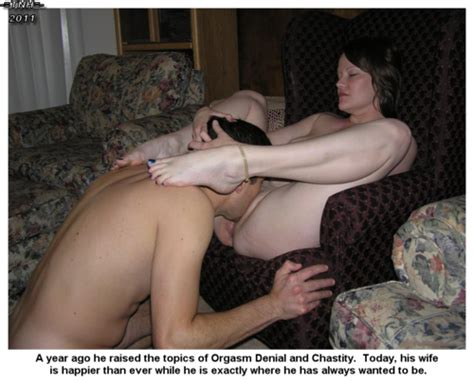 The Wife Led Husband In Chastity September