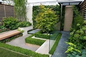Petit Jardin Moderne : petit jardin moderne visite d 39 oasis en 55 photos cours arri re jardins petits jardins et ~ Dode.kayakingforconservation.com Idées de Décoration