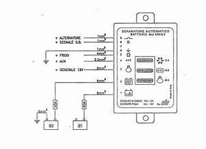 Batterie-separator  Csb 40-s  P P