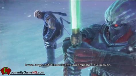 Street Fighter X Tekken Yoshimitsu And Raven Story Ending