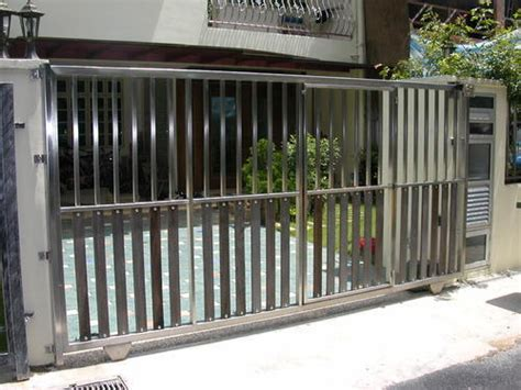 ss sliding gate  rs square feets stainless steel gate id
