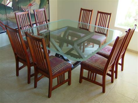Glass Dining Table  Sans Soucie Art Glass