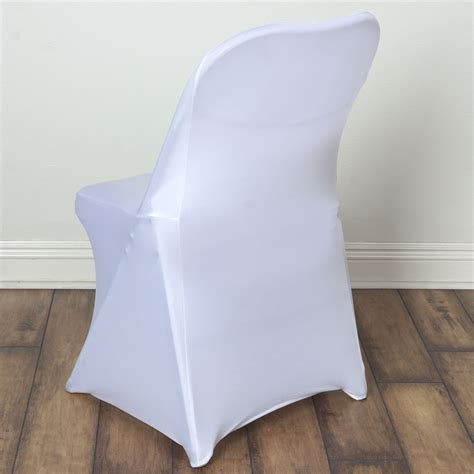 25 pcs spandex fitted folding chair covers for wedding