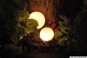 DIY Glowing Outdoor Orbs