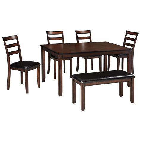 dining room set with bench dinning room table in northwest arkansas sam 39 s furniture