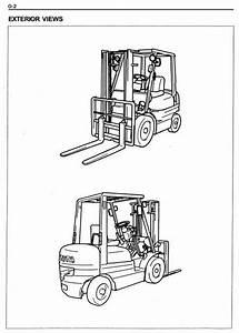 Toyota Diesel Forklift Truck  6fd10  6fd14  6fd15  6fd18