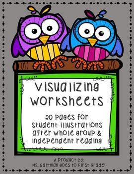 visualizing illustration sheets  mental image tpt