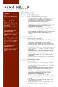 Systems Administrator Resume Samples Visualcv Resume