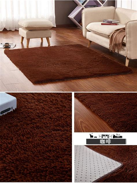 Plush Shaggy Thicken Soft Large Carpet Bedroom Area Rugs Slip Resistant Big Floor Mats For