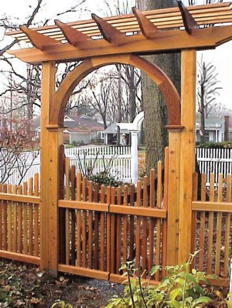 driveway gate and garden arbor news from new woodworks