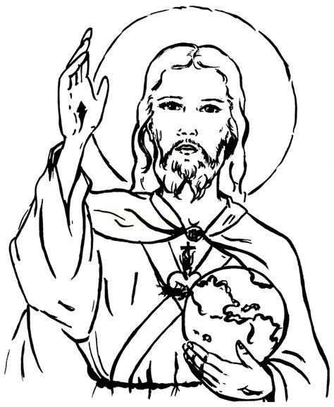 coloriage jesus  imprimer sur coloriages info