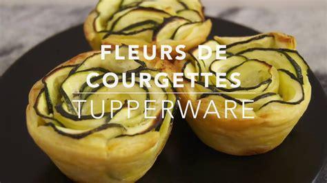 cuisiner fleurs de courgettes recette tupperware fleurs de courgettes