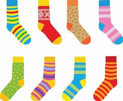 Socks Sock Vector Colored Bullying Anti Clip