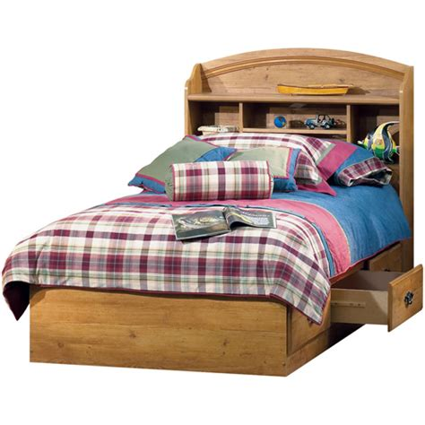 south shore prairie collection twin bed set pine