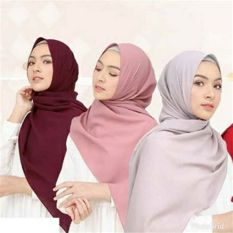 jilbab pashmina sabyan bahan diamond shopee indonesia