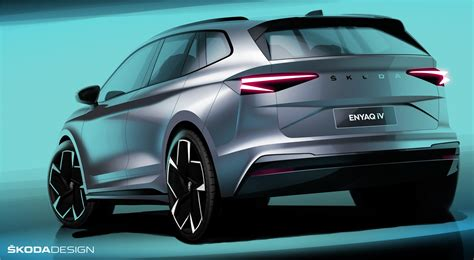 Skoda Enyaq iV electric SUV with a range up to 500 ...