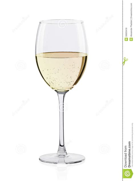 glass  white wine royalty  stock  image