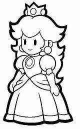 Mario Super Coloring Sheets Bros Activity Colouring Sunshine sketch template