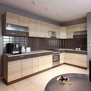Küchen L Form Modern : k che l form alina 180 350 cm m bel dena ~ Watch28wear.com Haus und Dekorationen