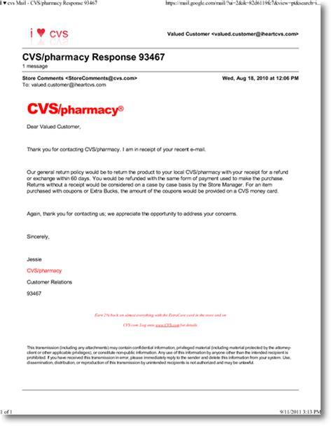 cvs makeup return policy with receipt classycloud co