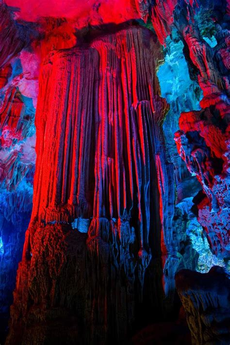 reed flute cave tourist attraction  china xcitefunnet