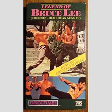 Legend Of Bruce Lee Vhs Video Tape Movie Film, Martial Arts Fighting
