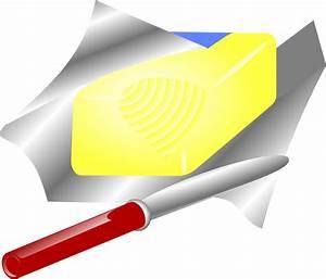 OnlineLabels Clip Art - Butter