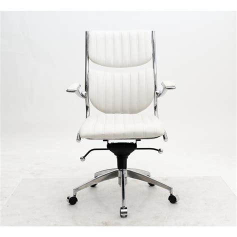 white office chair ergonomic manhattan comfort ergonomic high back verdi white office