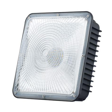 Led Canopy Light Fixtures by Led Canopy Light Fixtures 80w White Frame Okaybulb