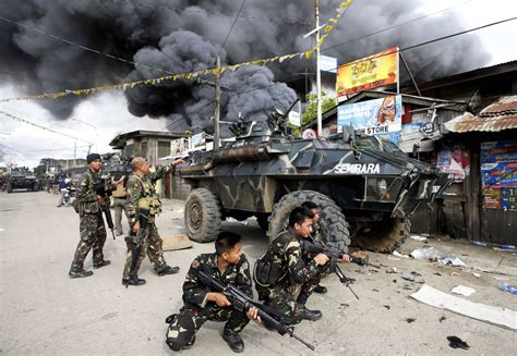 muslim rebels attack philippine towns the atlantic
