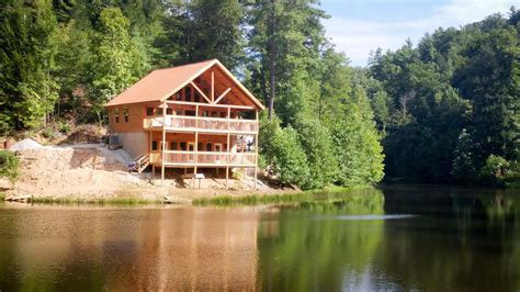 lake cabins for in cabins at river gorge 5 cabin rentals
